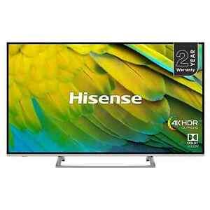 "Hisense H55B7500UK (2019) LED HDR 4K Ultra HD Smart TV, 55"" with Freeview Play, Black/Silver £359.10 at hughesdirect eBay"