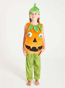 Halloween Orange Pumpkin Costume - 3-4 Years £3.60 at Argos