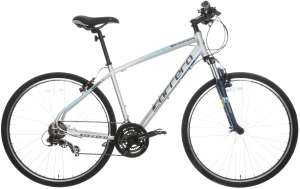 Carrera Crossfire 1 Mens Hybrid Bike V Brakes 21 Gears Shimano 700C Wheels for £201.60 delivered @ Halfords eBay