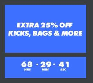 ASOS 25% Voucher code on outlet shoes and accessories