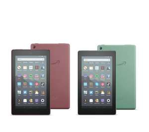 2 All New Fire Tablets 16GB with 2 32GB Memory Cards £79.99 at QVC