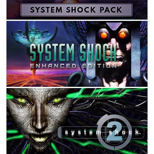 System Shock Pack (Inc. System Shock Classic, Enhanced & System Shock 2) £2.99 @ Humble Bundle