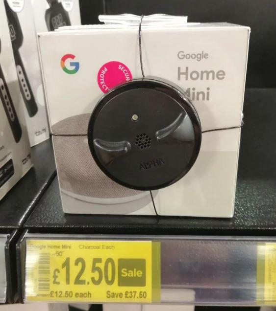 Google Home Mini £12.50 @ Asda Living Wrexham