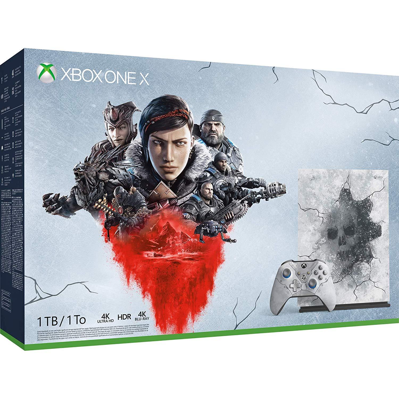 Microsoft Xbox One X 1TB Console & Gears 1-5 Limited Edition Bundle - £332.99 - eBay/Argos
