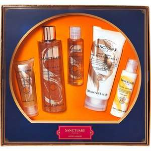 SANCTUARY SPA 5 Piece Spa Set £12.99 free c&c @ Tk Maxx
