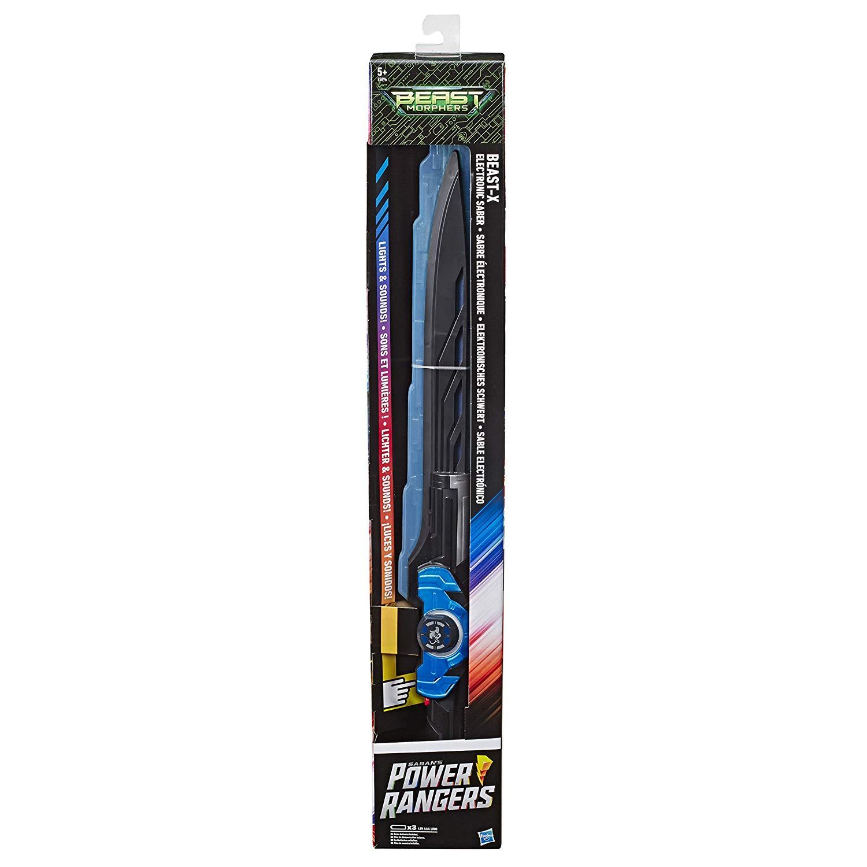 Power Rangers E5896EU5 Morphers Beast-X Electronic Saber, Sword Toy, Multicolour £20 at Amazon