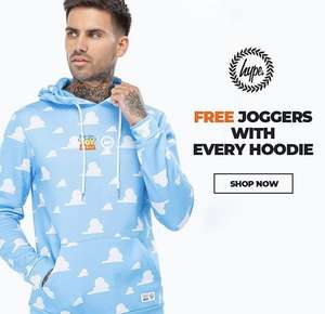 Free joggers with any hoody from £39.99 at Just Hype