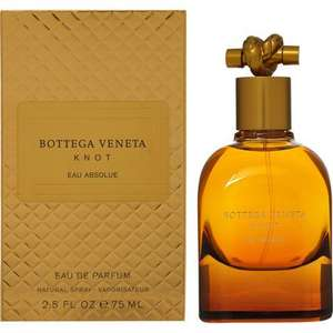 BOTTEGA VENETA Knot Eau Absolue EDP 75ml £40.00 free c&c @ Tk Maxx