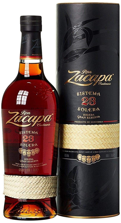 Zacapa 23 Ron Centenario Sistema Solera Rum – Super premium rum with soft and warm notes – 70cl - £42 @ Amazon