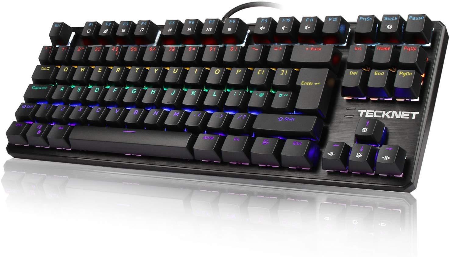 TeckNet Mechanical Keyboard 88 Keys £22.94 @ Sold by BLUETREE and Fulfilled by Amazon