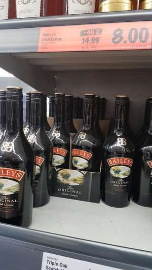 Bailey's 700ml £8 at Lidl Northern Ireland