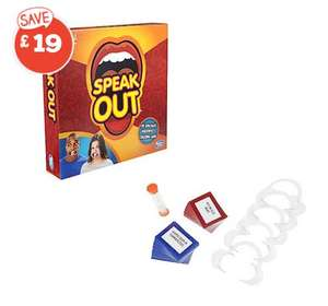 Speak Out Game £3 + £3.99 delivery at TheToyShop.com