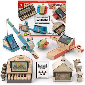 Nintendo Labo: Variety Kit £31.59 Sold by: Online Supply ApS @ Amazon
