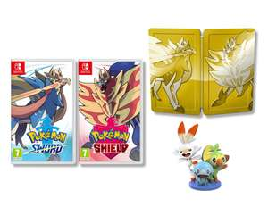 Pokemon Sword & Shield Dual Edition Inc Steelbook & Figurine (Switch) £90 Delivered @ Boss Deals via eBay
