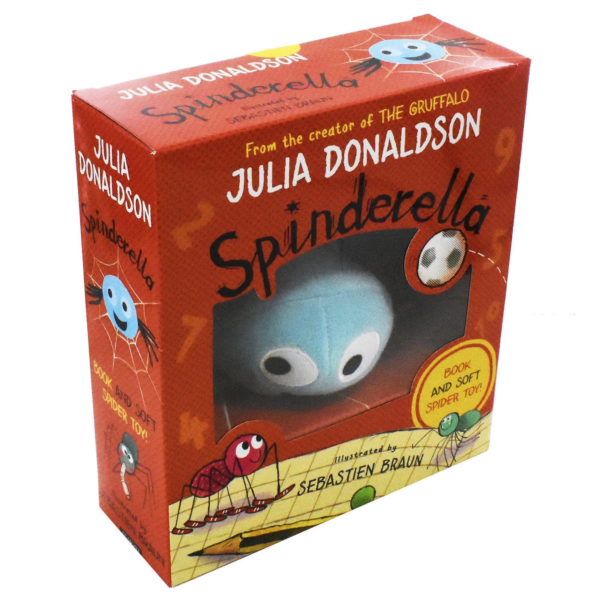Spinderella Book & Plush Set £5.99 Delivered at Books2Door