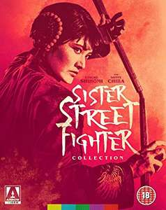 Sister Street Fighter Collection Blu Ray £11.81 + £2.99 delivery Non Prime @ Amazon