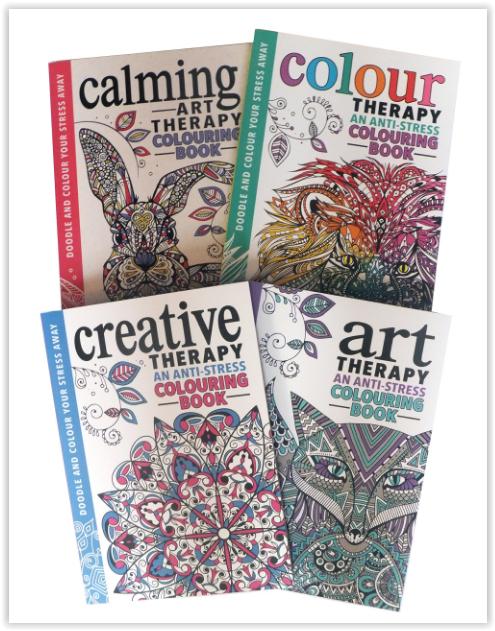 The Art Therapy Collection Box set of 4 Colouring Books £2.76 + 2.99 delivery Non Prime - Amazon