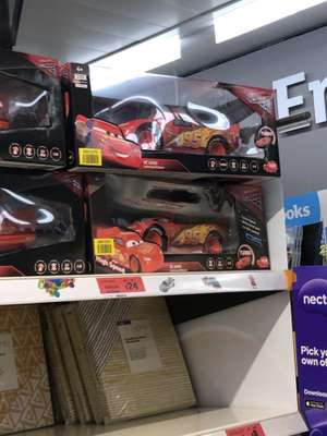 Sainsbury's - Dickie RC Lightning McQueen 3 Remote Control Racing Car, Scale 1:12 £24