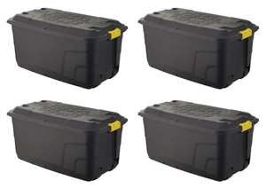 Extra Large 145L Storage Trunk - 4 Trunks for £42.50 @ Homebase (Free click+collect)