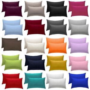 2 X Pillow Case Luxury Fine Poly cotton £1.99 @ adamlinen ebay