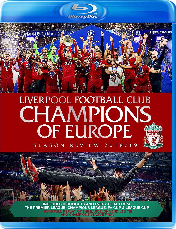 Liverpool FC Champions of Europe Season Review 18/19 Blu-Ray £12.99 +£2.99 non Prime @ Amazon