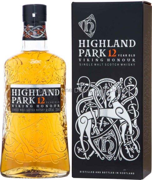 Highland Park 12 Year Old Orkney Malt Whisky Bottle, 70 cl £25 @ Asda