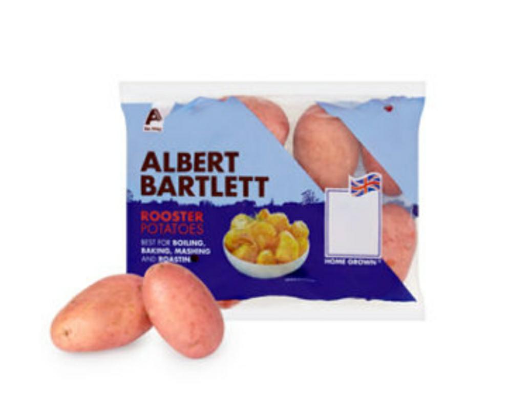 Albert Bartlett Rooster Potatoes 2kg Pack £1.5 @ Asda