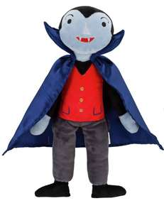 Halloween Dracula Soft Toy Now £1.80 in store @ Sainsbury's Colton Leeds