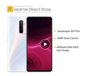 "realme X2 Pro Global 8GB 128GB NFC 6.5"" Moblie Phone Snapdragon 855 Plus 64MP Quad Fast Charger £114.53 @ Ali express Realme Direct Store"
