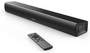 Soundcore Infini Mini Soundbar by Anker, 2.0 Channel, 21-Inch, Bluetooth Audio, Optical Input for TV £22.99 @ Anker Direct - Amazon