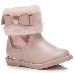Ted Baker girls faux fur trim boots £23.52 @ Debenhams Free click and collect