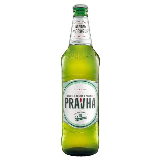 Pravha Premium Pilsner 660ml (Large Bottles) - 99p @ Home Bargains (Barry - Thompson Street but National)