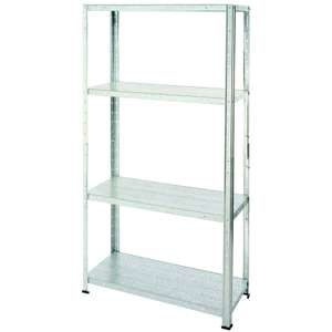 Galvanised Steel 4 Shelf Storage Unit for £9.60 @ Homebase (Free click+collect)