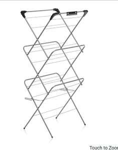 Wilko Deluxe Clothes Airer 14m £12 + £2 Click and Collect