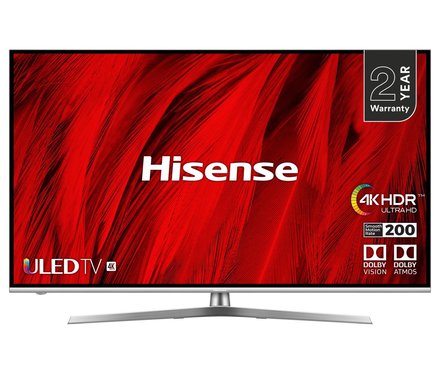 """Hisense H55U8BUK 55"""" Smart 4K Ultra HD TV £529 using code @ AO"""