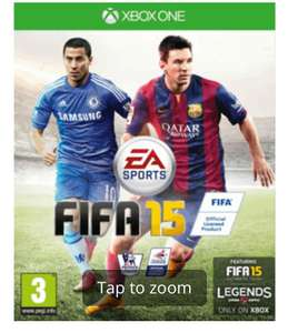 FIFA 15 XBOX ONE, PS4, pre-owned 20p GAME