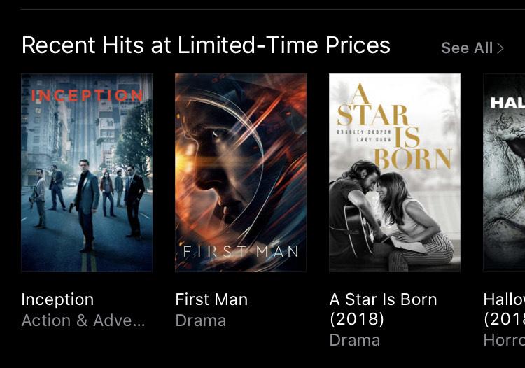 Apple iTunes 4K Movie Sale: Celebrate Apple TV+ Launch day