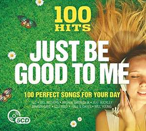 100 Hits: Just Be Good to Me [5CD Compiliation] + MP3 version - £2.99 @ Amazon Prime / Non-Prime (+£2.99)