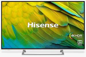 "Hisense H55B7500UK 2019 LED HDR 4K UHD Smart TV, 55"" w/ Freeview Play for £379 delivered @ John Lewis & Partners (+5 yrs guarantee)"