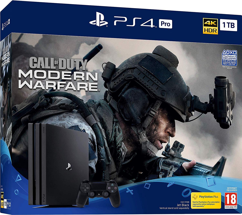 Call Of Duty: Modern Warfare PS4 Pro Console Bundle (PS4) £299 @ Amazon