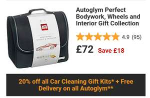 Autoglym Perfect Bodywork, Wheels and Interior Gift Collection - £72 @ Halfords