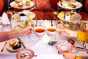 2 for 1 Champagne Afternoon tea from £30.50 dependant on location @ Handpicked Hotels