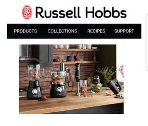 Russell Hobbs 25% off at the checkout