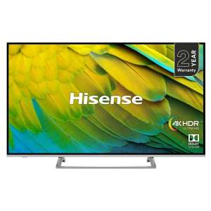 "Hisense H55B7500UK 55"" 4K HDR Certified Smart TV Television Unibody £379 @ Hughes"