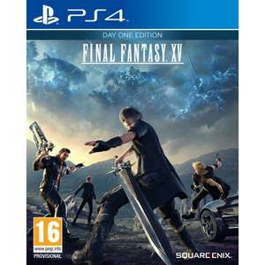 Final Fantasy XV - Day one edition PS4 for £5.65 Delivered @ The Game Collection