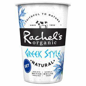 2 x Rachel's Organic Greek Style Natural Yogurt 450g - £1 @ Fulton Foods