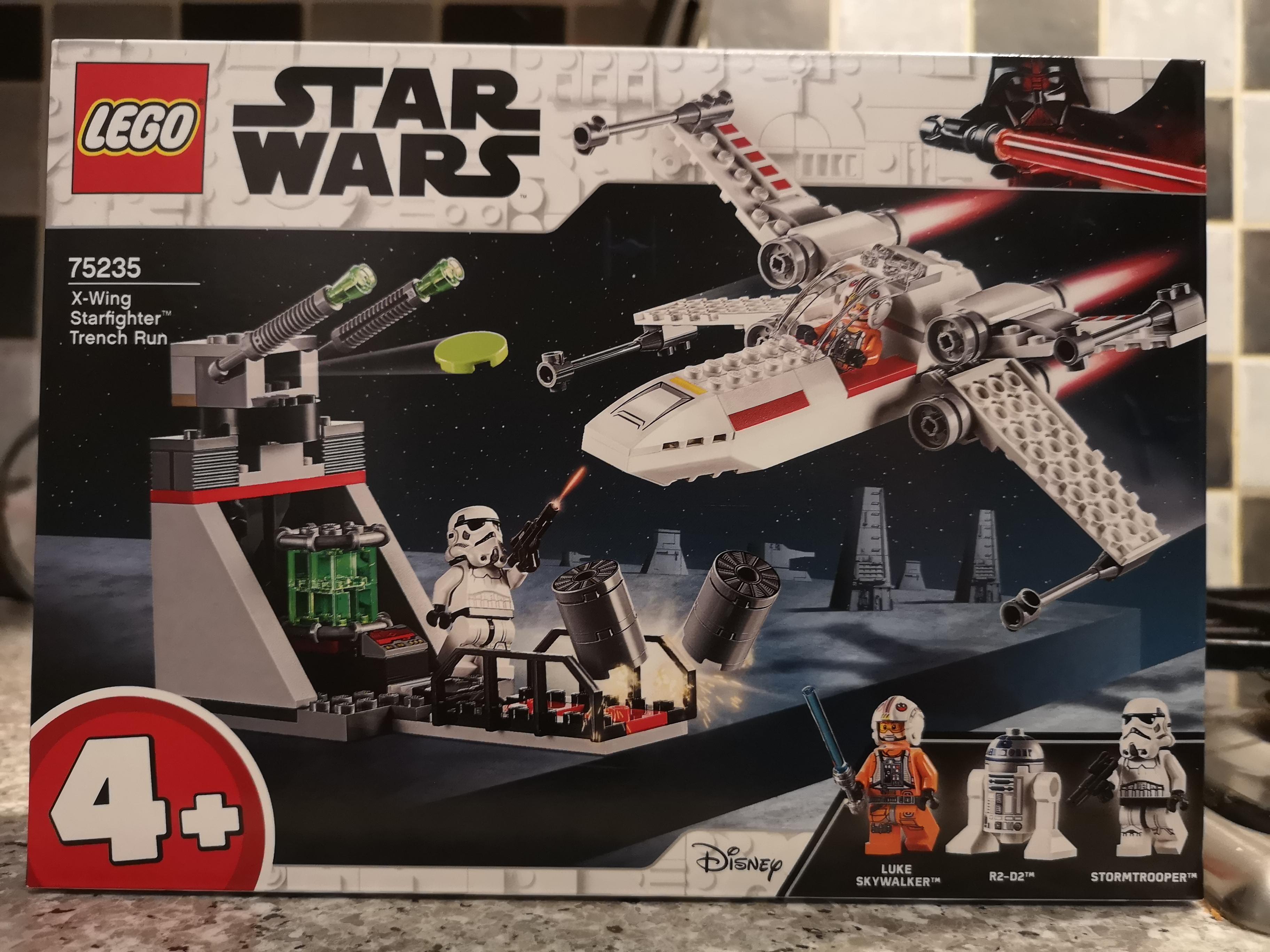 Lego 75235 X wing starfighter trench run scanning at £2.40 @ Asda (Hunts Cross)