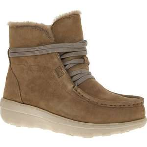 FITFLOP Taupe Suede Ankle Boots £39.99 +£1.99 click and collect @ Tk Maxx