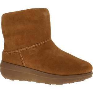 FITFLOP Caramel Suede Ankle Boots £49.99 +£1.99 click and collect @ TK Maxx