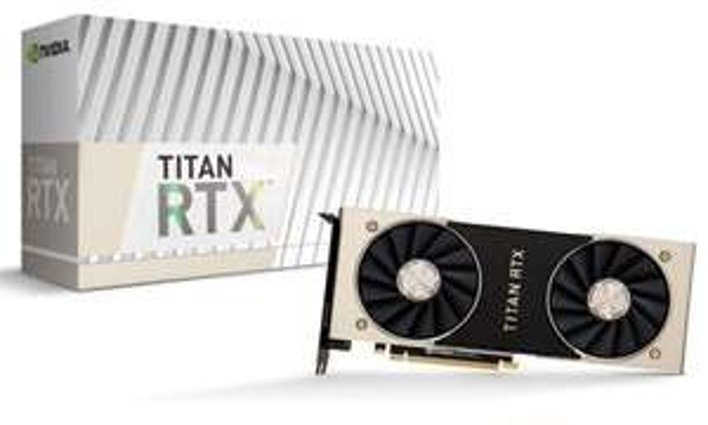 NVIDIA TITAN RTX 24GB Graphics Card *Open Box - 1 Year Warranty* - £2459.02 @ CCL